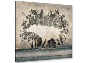 cheap banksy wet dog graffiti banksy canvas modern 49cm square 1s292s for your girls bedroom