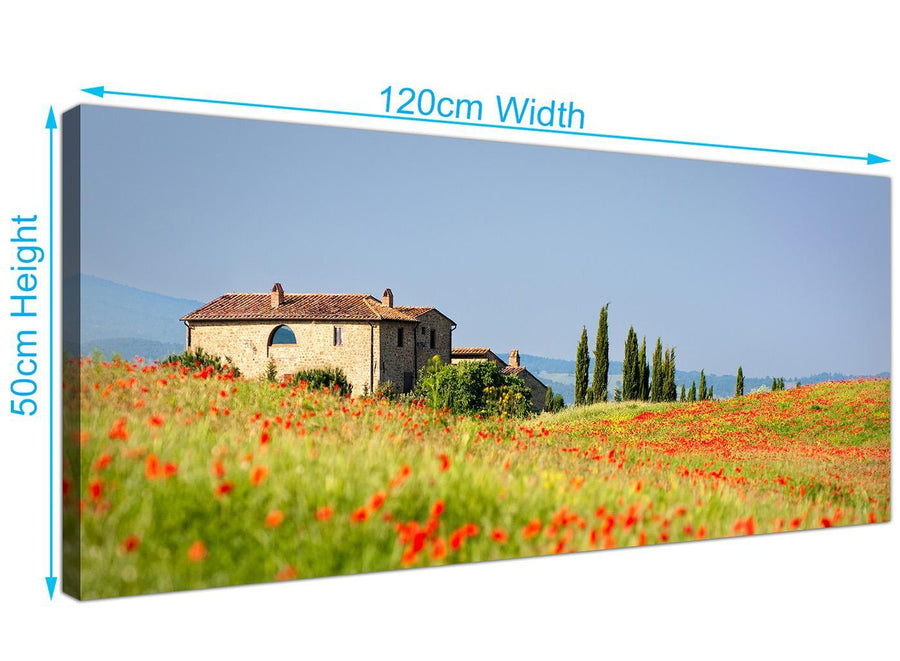 Tuscan Afternoon Canvas Art