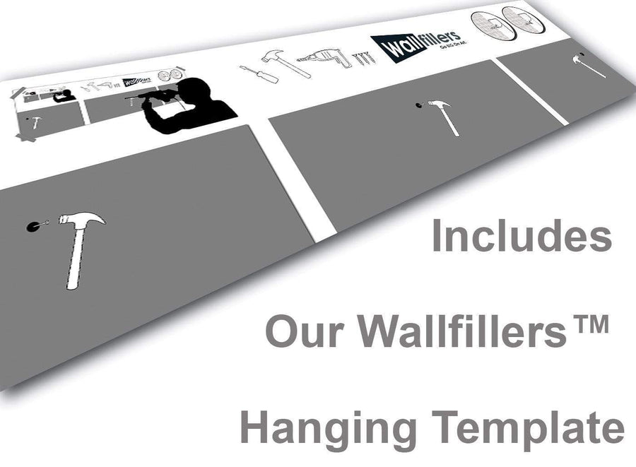 Wallfillers Canvas Hanging Template