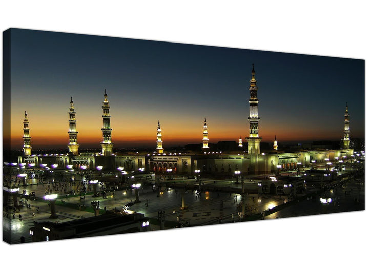 al masjid an nabawi prophets mosque islamic canvas wall art hajj medina