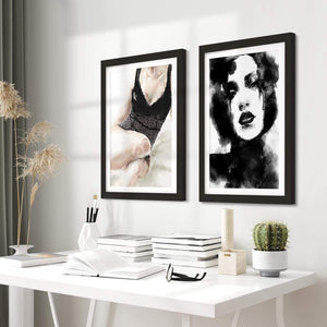 Framed Canvas Wall Art Painting Print - 2fb554 - 112cm XL Set Artwork