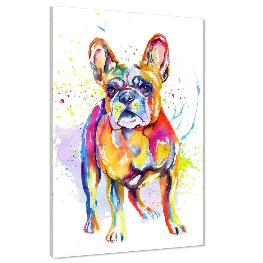 French Bulldog Framed Art Pictures - Multicoloured