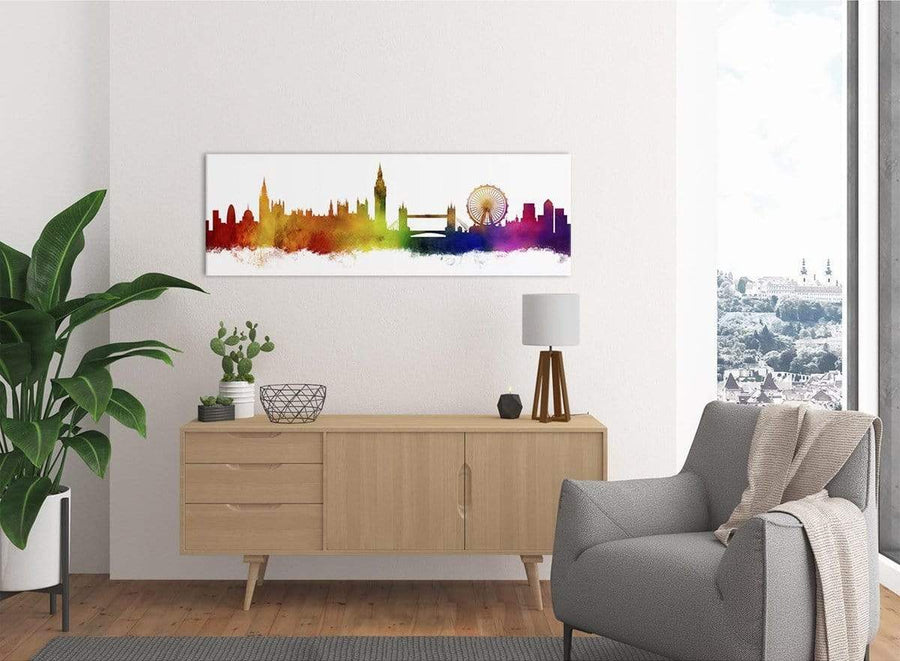 Canvas Print of London Skyline