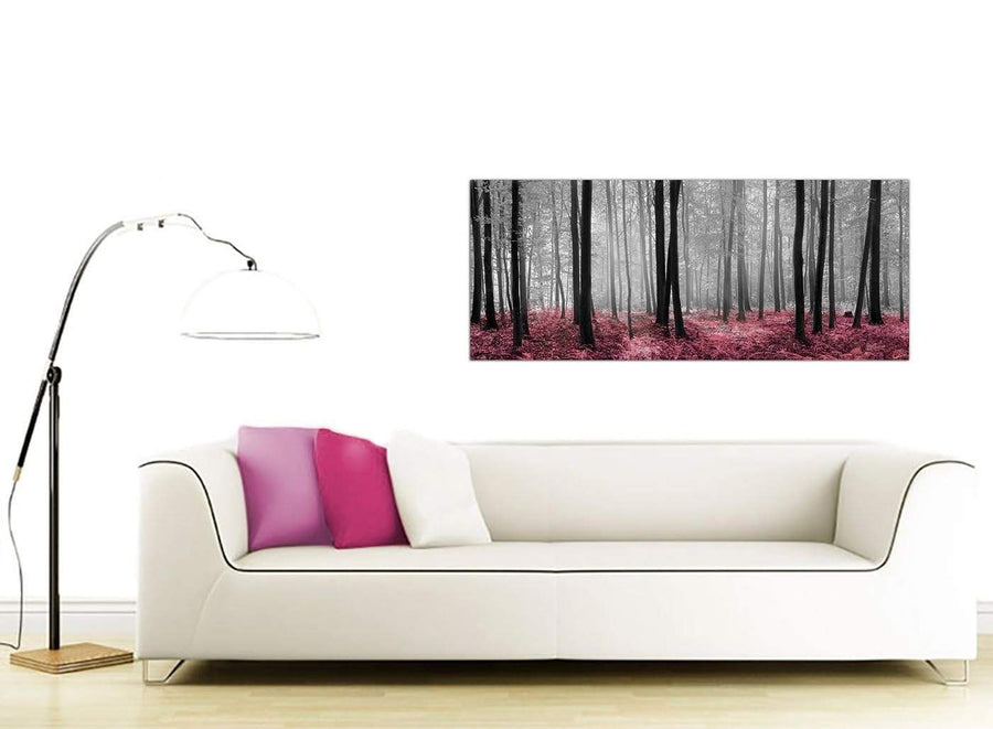 Canvas prints forest scenery