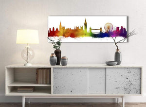 Contemporary Canvas Print of London Skyline