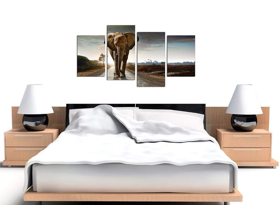 Cheap Set of 4 Wildlife Canvas Prints UK 4209