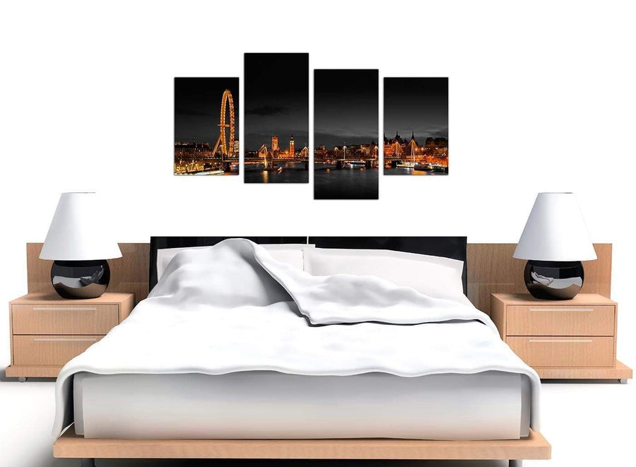Large River Thames Canvas Art