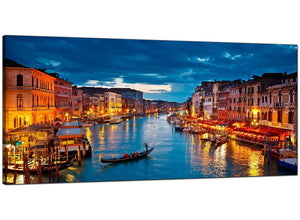 Blue Bedroom Extra Large Canvas of Venice Italy