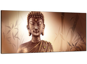 Brown Cheap Large Canvas of Buddha