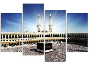 Large Canvas Pictures Mecca & Kaaba at Hajj Hallway 4191