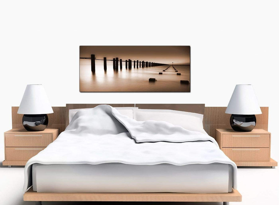 Landscape Cheap Brown Canvas Wall Art