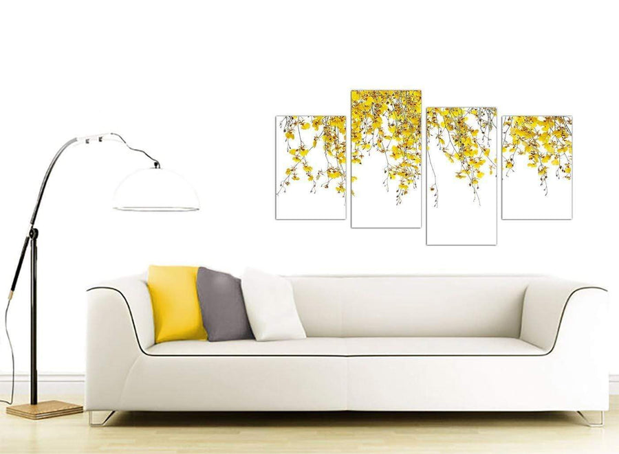 cheap floral canvas art living room 4263