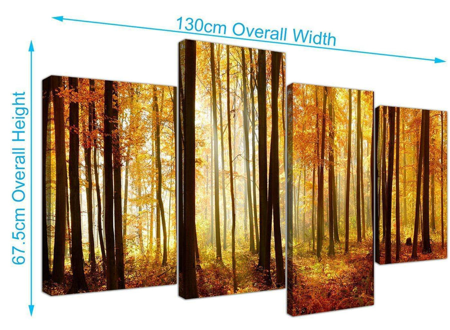 cheap forest woodland trees canvas prints uk black and white 4243