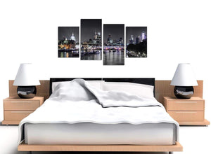 Cheap Set of 4 Cityscape Canvas Prints UK 4211