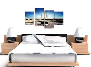 Cheap Mecca & Kaaba at Hajj Canvas Wall Art 130cm x 68cm 4191