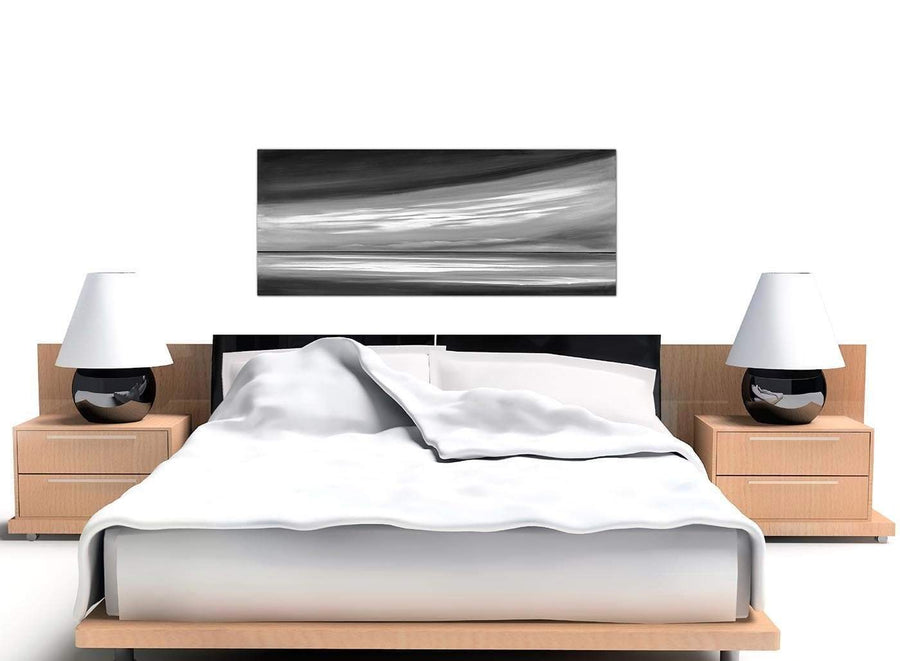 cheap panoramic black and white abstract canvas prints 1272