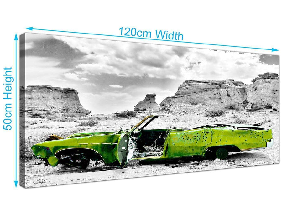 Large Car Canvas Pictures 120cm x 50cm 1143