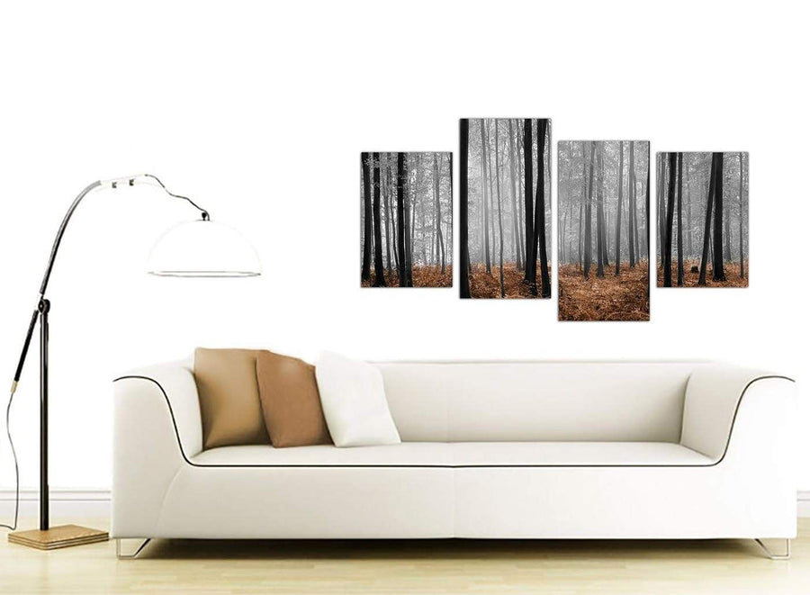 cheap panoramic landscape canvas art dining room 4238