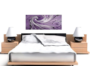 cheap panoramic purple purple and white spiral swirl canvas pictures 1270