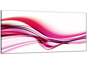 Pink Cheap Wide Abstract Canvas