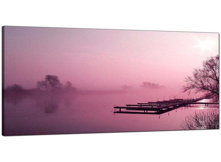 Plum Bedroom Extra Large Canvas of Landscape