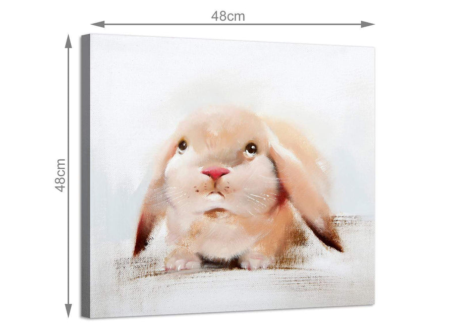 Cheap square animal canvas prints uk girls bedroom 1s247m