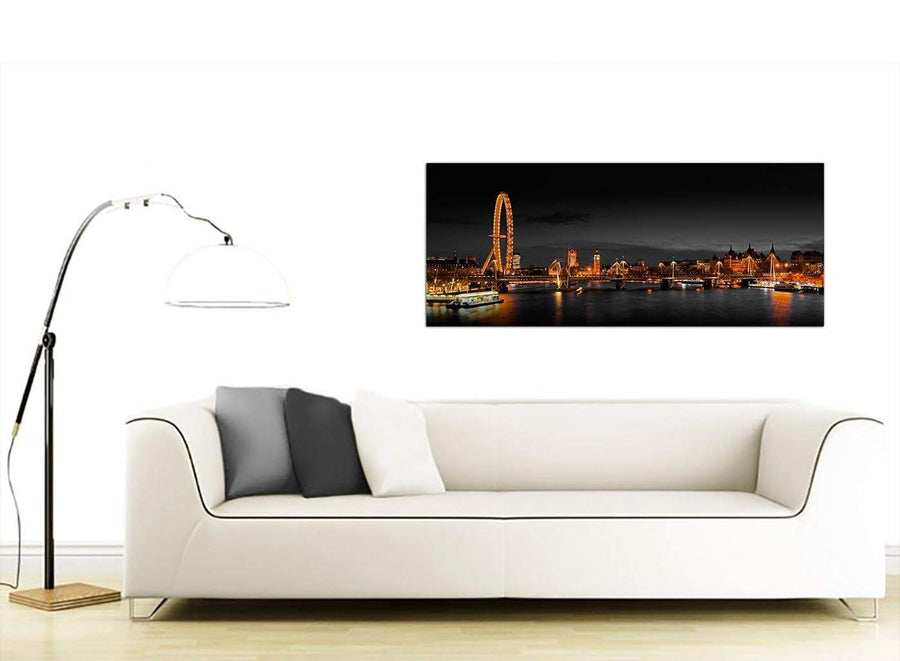Extra Large Cityscape Canvas Pictures Panoramic 1186