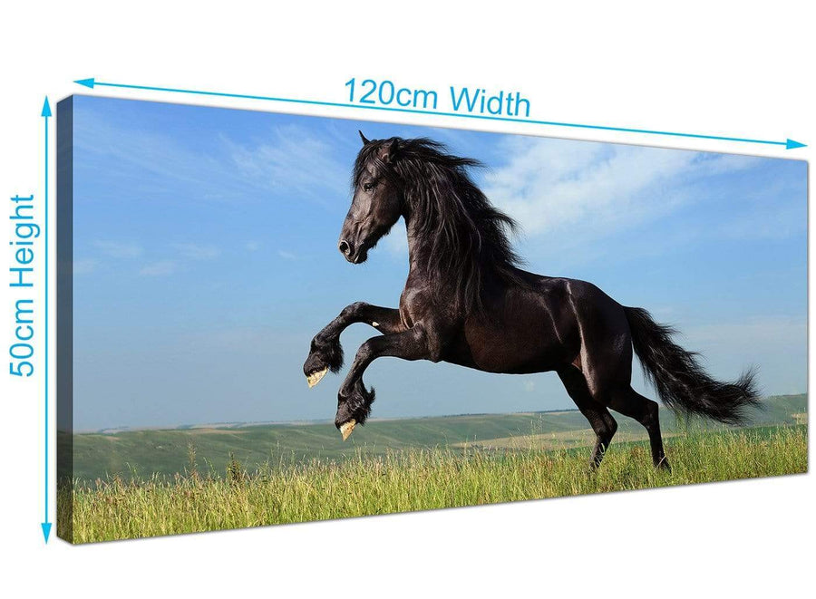 Large Horse Canvas Wall Art 120cm x 50cm 1129