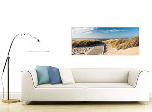 Cheap Beach Canvas Art 120cm x 50cm 1197