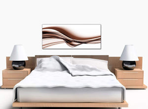 Abstract Bedroom Brown Canvas Pictures