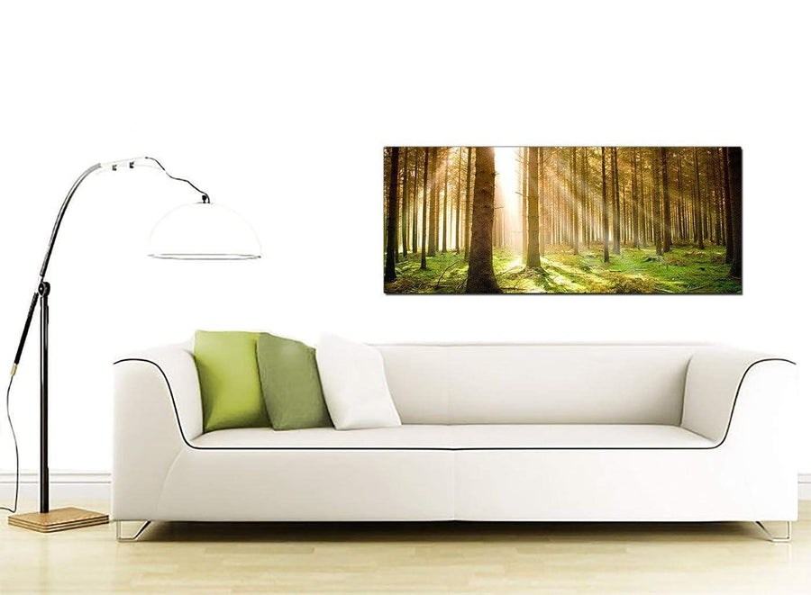 Trees Extra-Large Green Canvas Picture