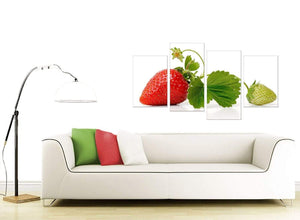 Strawberries Canvas Pictures
