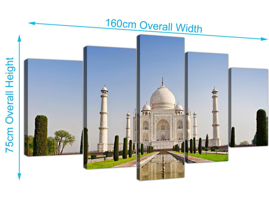 extra large taj mahal canvas art natural 5203