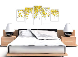 extra large yellow orchids canvas art 5263