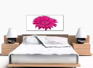 Gerbera Flowers Bedroom Pink Canvas Prints