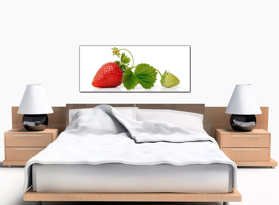 Kitchen Strawberry Extra-Large Red Canvas Prints
