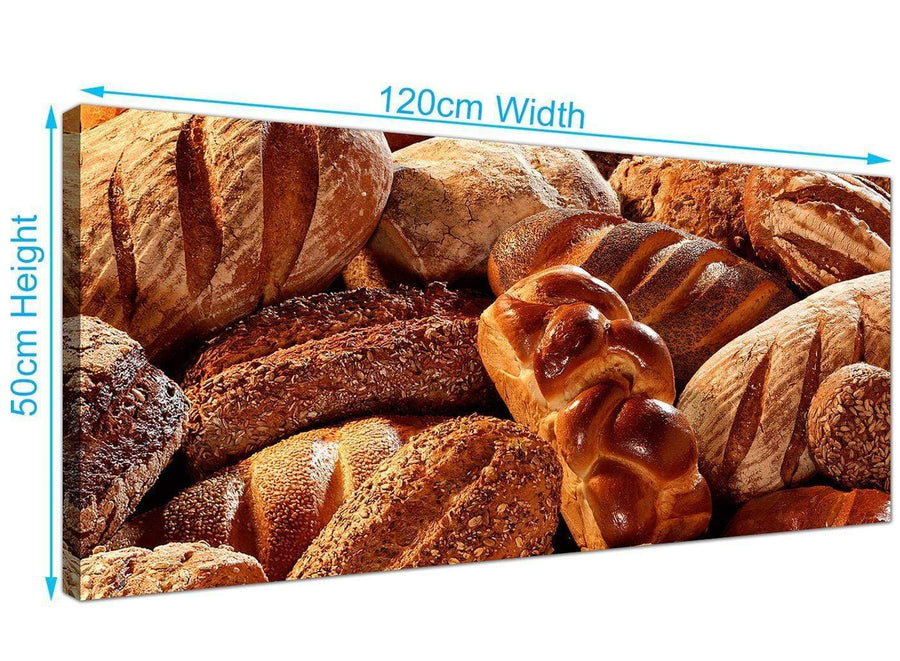 large panoramic bread canvas prints brown 1254