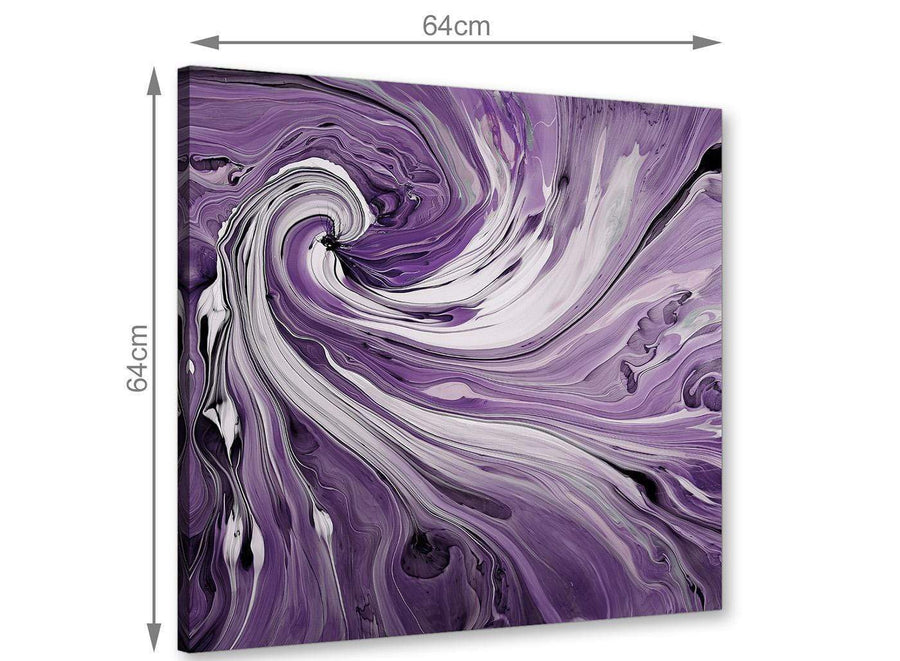 large panoramic purple and white spiral swirl canvas wall art purple 1s270m
