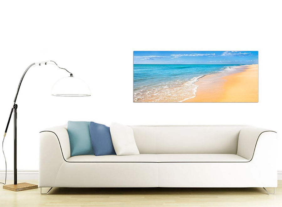 large panoramic seascape canvas prints uk living room 1199
