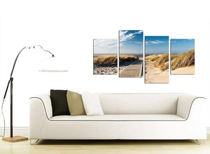 Pathway to the Ocean - Landscape Beach Canvas