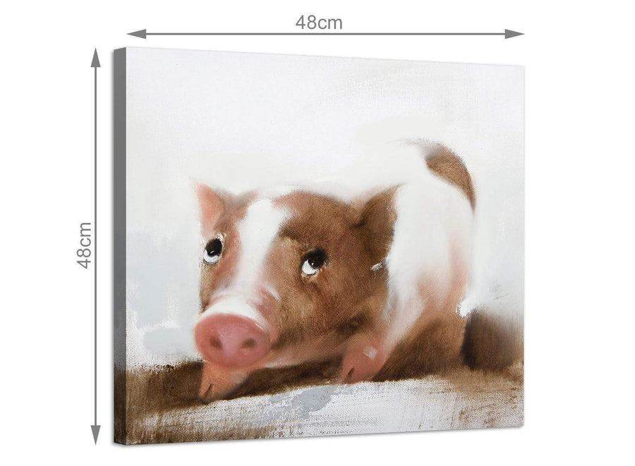 Large square animal canvas prints uk boys bedroom 1s249m