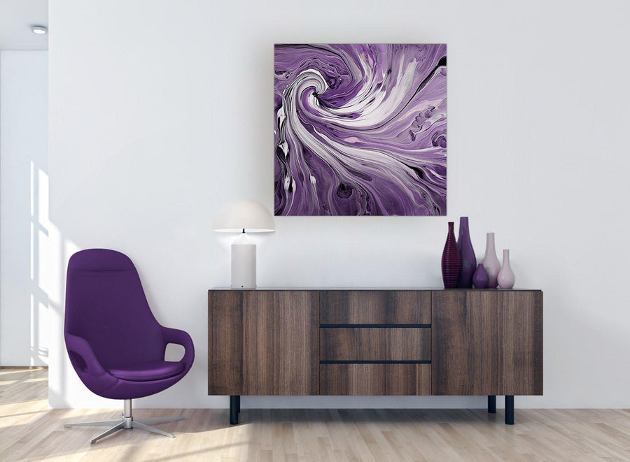 large wide purple purple and white spiral swirl canvas prints 1s270l
