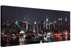 Trendy Canvas Prints Monochrome Panoramic Landscape United States 1187