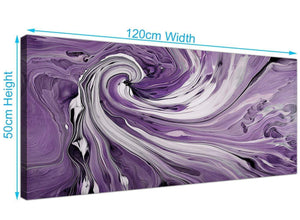 modern panoramic purple and white spiral swirl canvas prints uk purple 1270