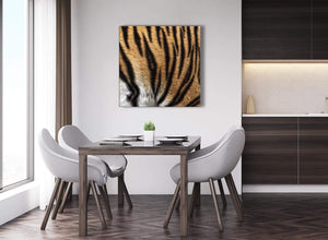 Next Large Canvas Wall Art Tiger Animal Print - 1s472l - 79cm XL Square Picture