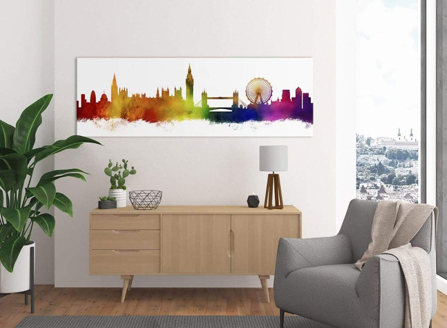 Canvas Print of London Skyline for your Study or Lounge