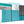 Panoramic Teal Grey Abstract Painting Canvas Wall Art Split 3 Set 125cm Wide 3344 For Your Hallway