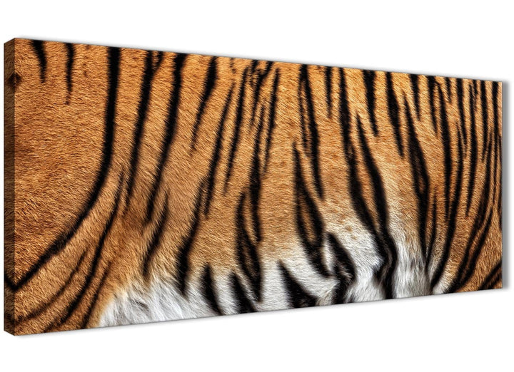 Panoramic Tiger Animal Print Canvas Art Pictures - 1472 - 120cm Wide Print