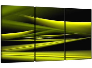 Three Panel Contemporary Canvas Art Abstract 3047
