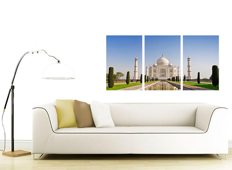 set of 3 landmark canvas prints living room 3203